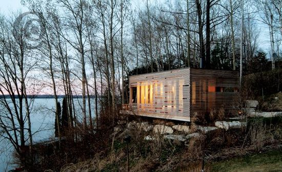 Sunset Cabin Taylor Smyth Architects, Lake Simcoe, Ontario, Canada, 274 sq. ft.