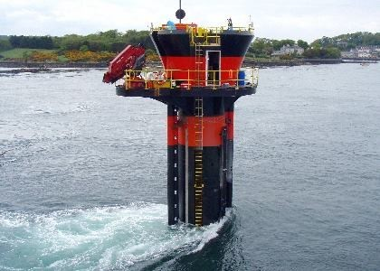 SeaGen - The world's only commercially operational tidal turbine, feeding 10MMh per tide into the UK grid 3