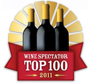 Wine Spectator Top 100 Wines for 2011