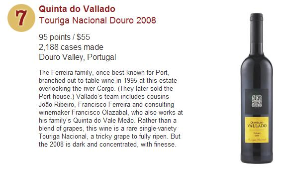 Wine Spectator's Top 10 Wines for 2011 - No 7