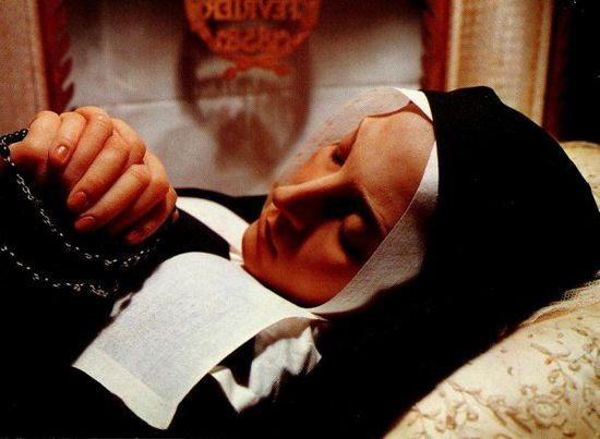 The body of St Bernadette Soubirous appears without a trace of decomposition even after 122 years