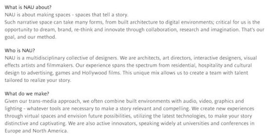 About NAU Architects