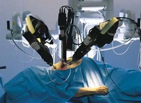 Intuitive Surgical da Vinci robotic surgery system