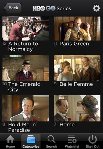 HBO GO screenshots 2