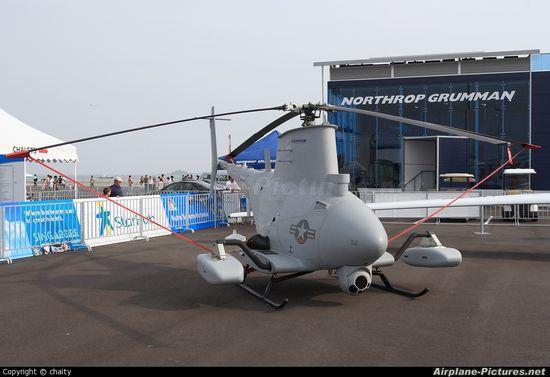 MQ-8B Fire Scout at Northrop Grumman air show