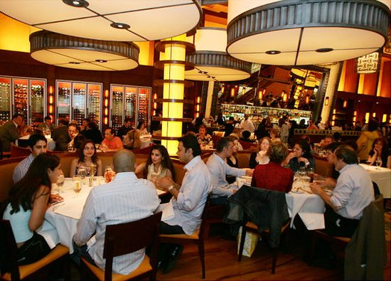 Bobby Flay's bistro Bar Americain in New York