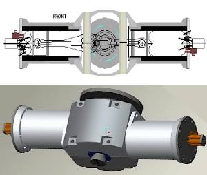 PlasmERG Motor illustration with cutaway view
