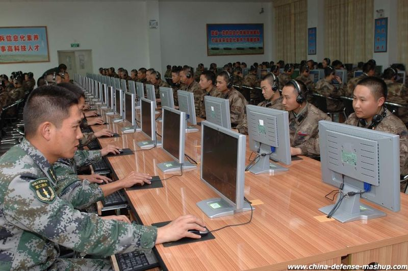 China's Blue Cyber Team busy hacking computer systems throughout the world