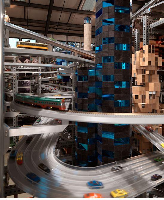 Metropolis scene 3