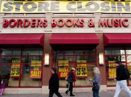 Borders Books & Music filed for bankruptcy protection in February 2011, but after five months could not find a buyer so the chain is liquidating