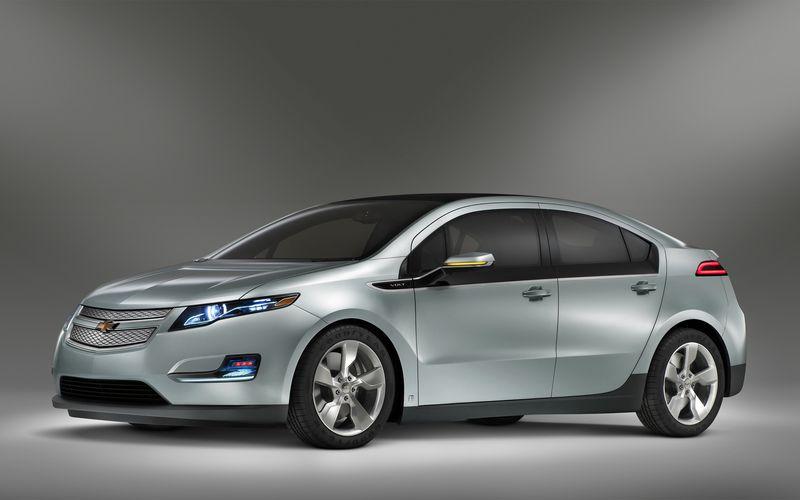 GM Chevy Volt Electric Car 2011