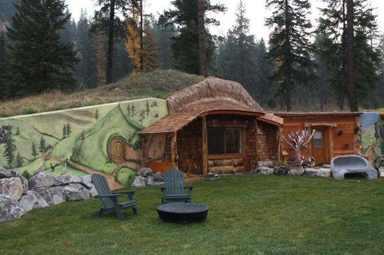 The Hobbit House front entrance