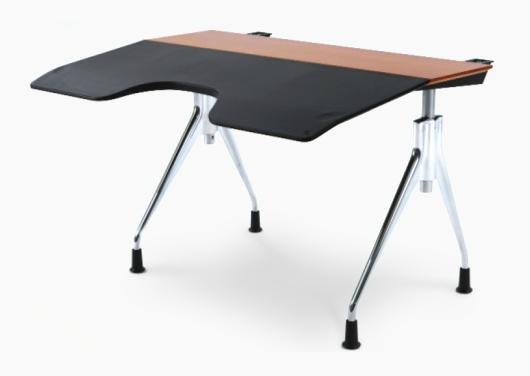 Envelop Desk surface slants slightly more