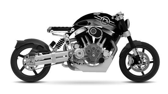 Confederate Motorcycles X132 Hellcat 1