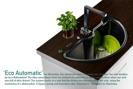 Eco Automatic sink and dishwasher 1