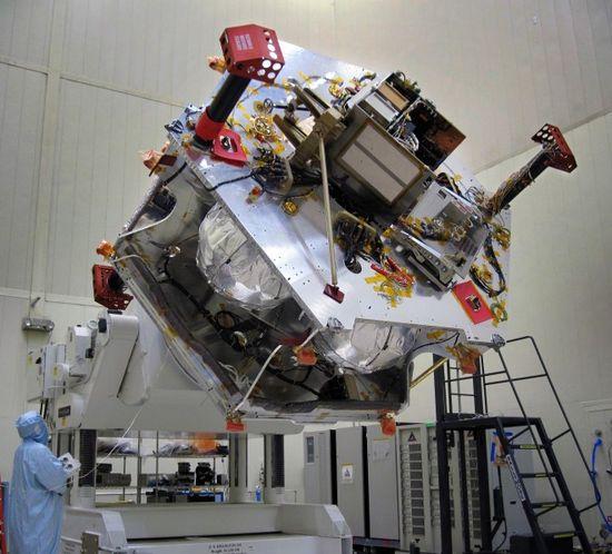 NASA Juno Spacecraft being built