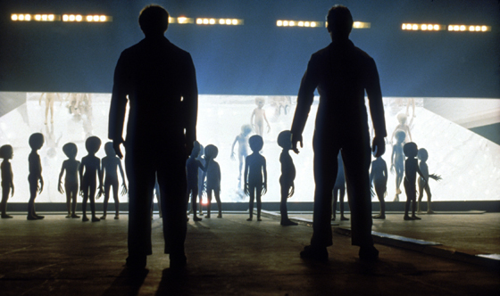 This scene from the film 'Close Encounters of the Third Kind' could become reality sooner than you think