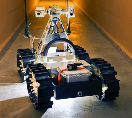 Gemini-Scout Mine Rescue Robot