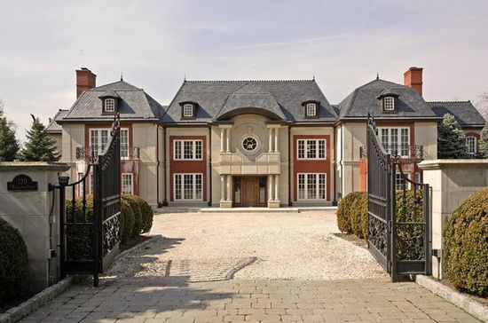 Inspired by a French Chateau they saw while on their honeymoon in France 24 years ago, Ziel and Helene Feldman built this roughly 18,500 square foot mansion in Englewood, N.J.
