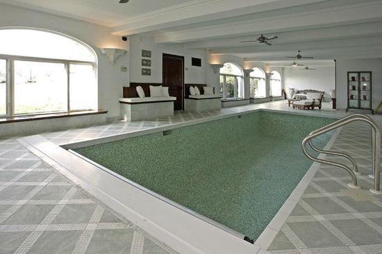 Feldman Chateau in Englewood, N.J. indoor swimming pool
