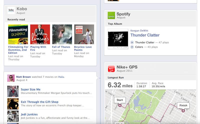 Facebook Timeline Profile G