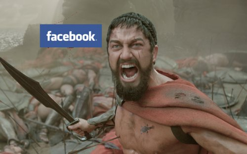 Facebook Spartan mobile app