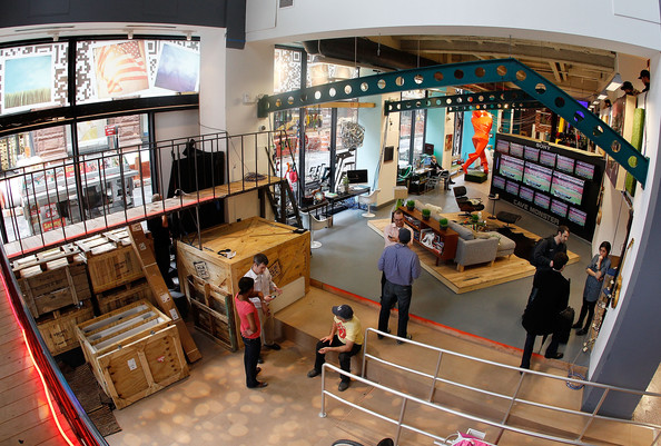 New York's MLB's Fan Cave view from above