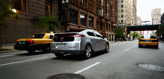 With instant torque and a top speed of 100 mph on the test track, the 2012 Chevrolet Volt is more car than electric