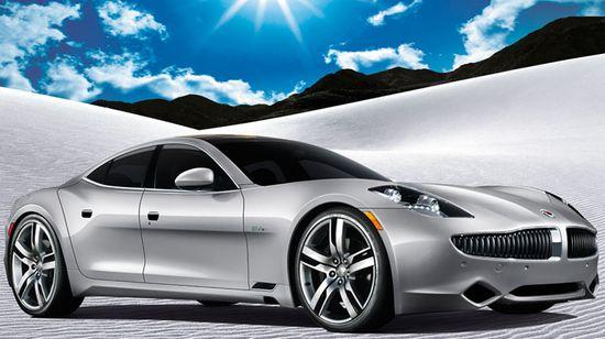 Fisker Karma hybrd luxury sports sedan