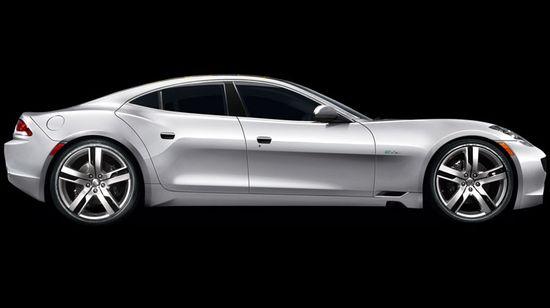 Fisker Karma hybrd luxury sports sedan 2