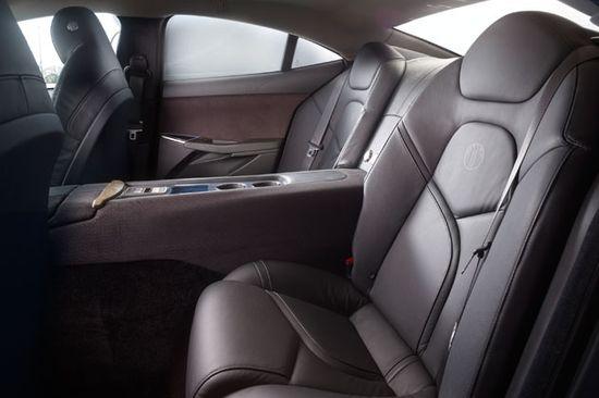 Fisker Karma rear seats 2