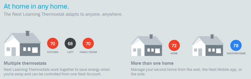 Nest is at home in any home
