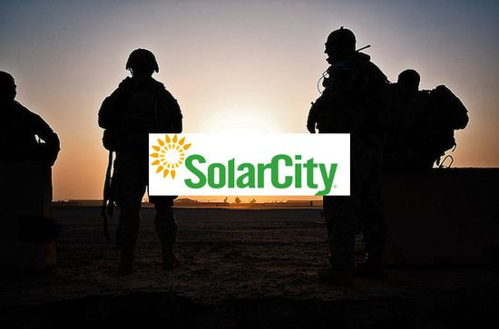 Project SolarStrong will provides thousands of jobs for these vets returning from duty in Iraq and Afghanistan