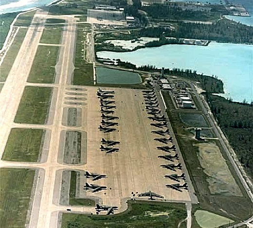 Diego Garcia serves as a major base for USAF B-52 bombers and B-2 Stealth bombers to carry out missions in Iraq and Afghanistan
