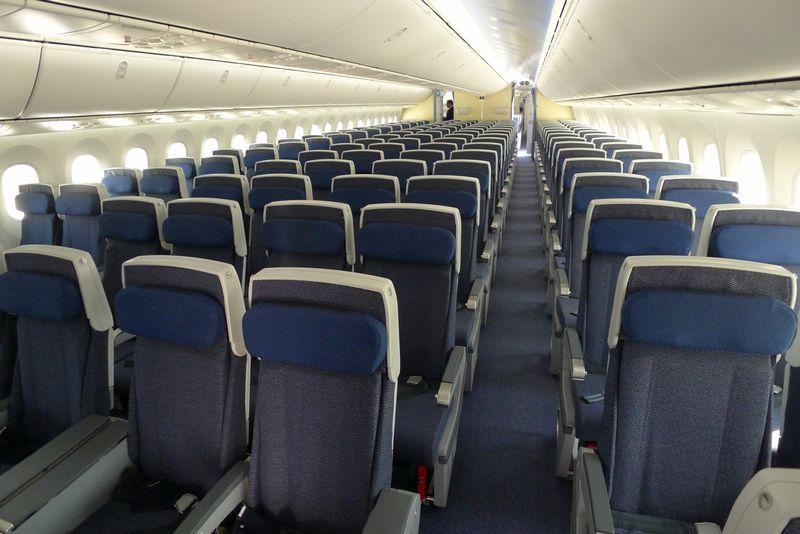 Ana S Boeing 787 Dreamliner Has 250 Economy Class Seats
