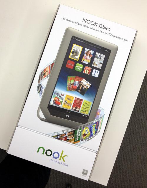 B&N Nook Tablet Box