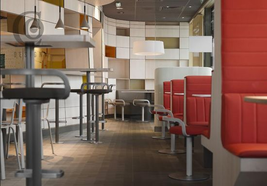 McDonalds store design concept in France by Patrick Norguet 3