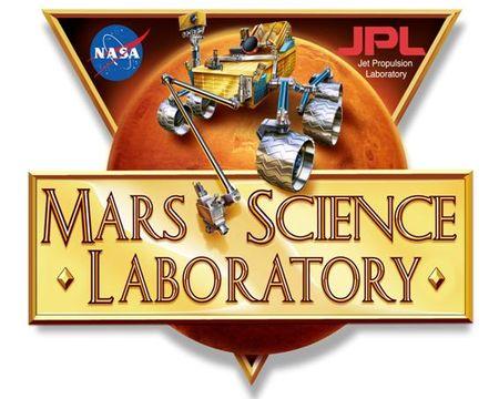 NASA-JPL Mars Science Laboratory logo