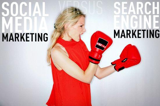Social Media Marketing versus Search Engine Marketing
