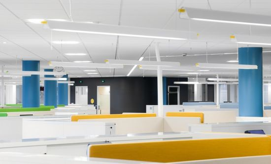 in designing a new office space for the it department of atg