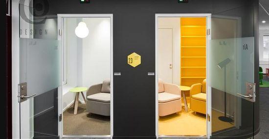 ATG IT interior, designed by Note Design Studio 3