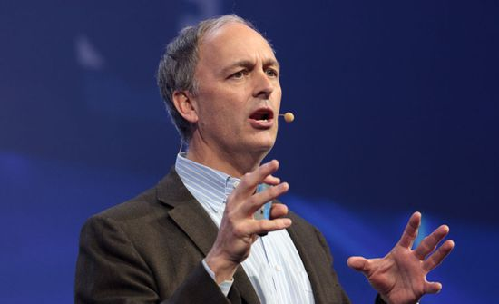 Forrester CEO George Colony speaks at LeWeb (Credit Stephen Shankland-CNET)