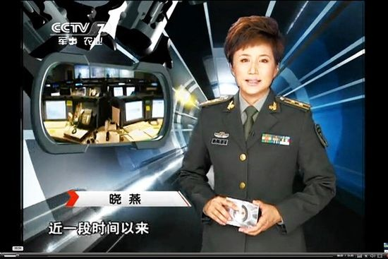 A Chinese state TV report alludes to attacks on websites in the U.S.