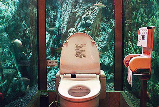Aquarium Bathroom, Akashi, Japan