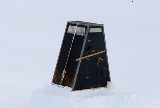 Arctic Outhouse, McMurdo Station, Central West Antarctica