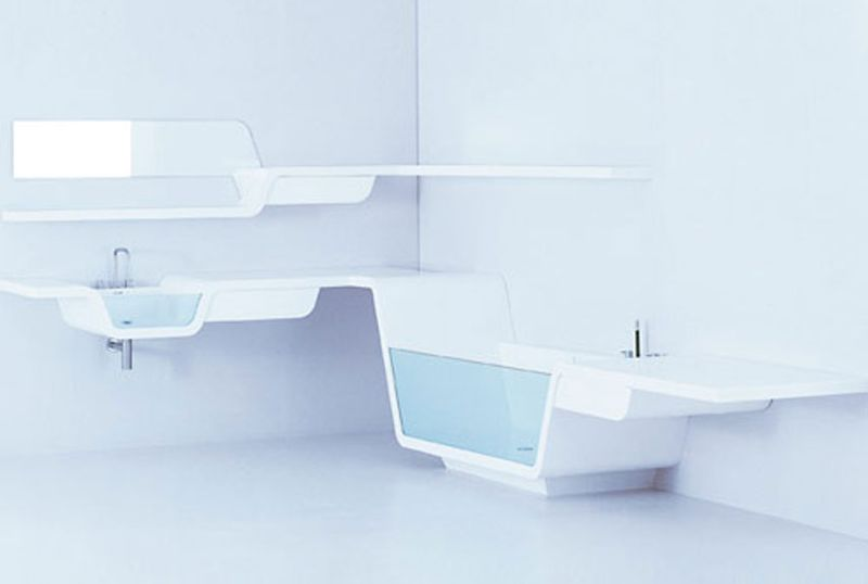 Ebb Bathroom, taking streamlined to a whole new level, anywhere you need one