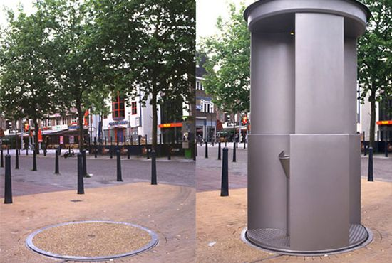 UriLift Public Pop-Up Toilet