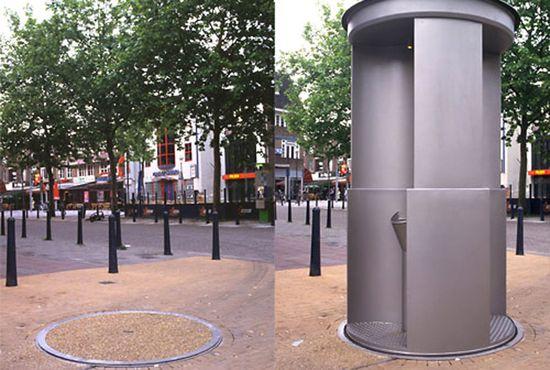 UriLift Public Pop-Up Toilet