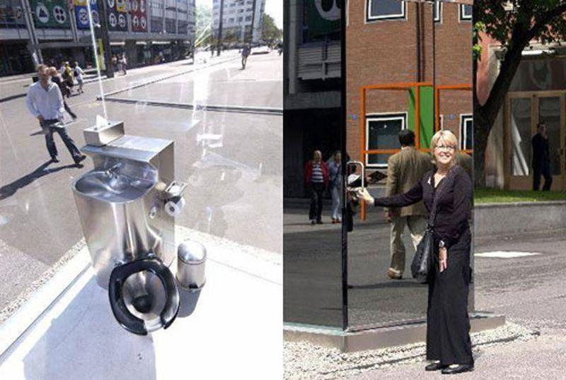See-Through Toilet - Basel, Switzerland