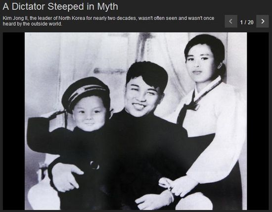 A Dictator Steeped in Myth (CLICK IMAGE TO VIEW INTERACTIVE SLIDESHOW0